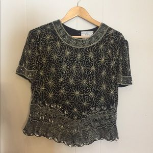 VINTAGE Silk Papell Boutique Top
